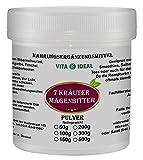 Magen Bitter Pulver 300g mit Bibernellwurzel, Wermut, Schafgarben, Fenchel, Kümmel, Anis, Wacholderbeeren + Messlöffel