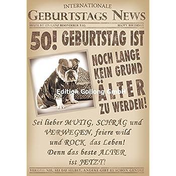 Gluckwunschkarte Zum 50 Geburtstag Noch Lange Kein Grund Alter