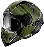 Casco Modulare Airoh J106 Crude - Green Matt / Yellow Matt (S, Green