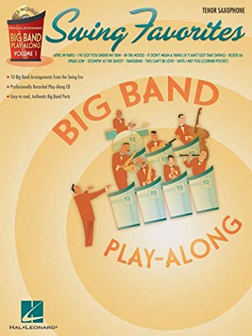 Swing Favorites: Tenor Saxophone (Hal Leonard Big Band