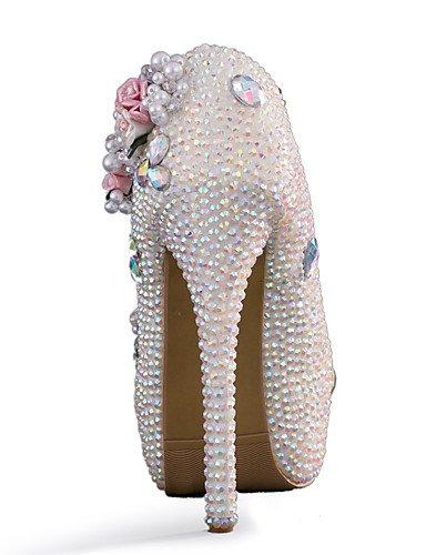 WSS 2016 chaussures talon aiguille talons talons mariage / fête des femmes&soirée / robe blanche 5in & over-us8 / eu39 / uk6 / cn39