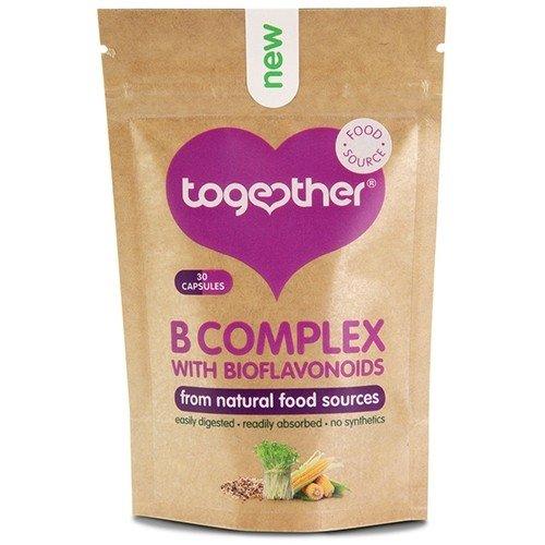 B-komplex-30 Kapseln (Zusammen Gesundheit Vitamin B-Komplex 30Kapsel x 2(2Stück))