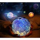 wuxi Magia De Diamantes De Del Proyector Proyector Led Luz De La Noche Cósmica De Cielo Luces Lampara De Proyeccion 3D Noche Luz Cambiante Peliculas Para Fiesta De Magia Y Habitacion De Niños