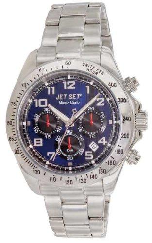 Jet Set Men's Watch Monte Carlo Silver Quartz J63123-332