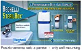 "Beghelli Sterilbox The Toothbrush Teeth To Light Germicidal UV-C ""Model All White"""
