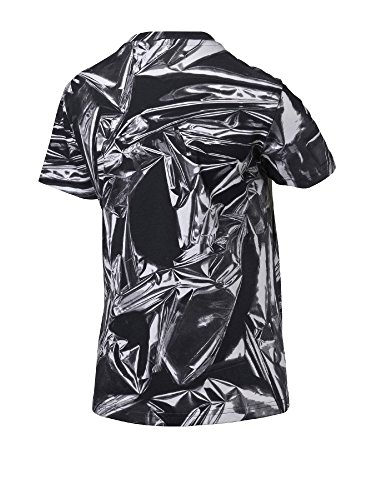 Blanc Print Tee Over et Puma Noir All Mehrfarbig Shirt Femme g8REZx