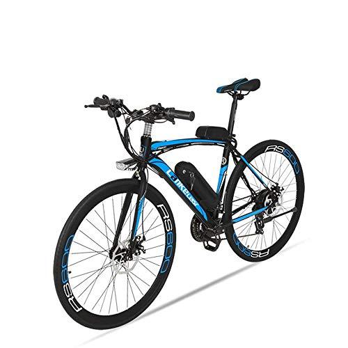BNMZX Bicicleta eléctrica, Bicicleta de Carretera Masculina/Femenina, Capacidad 240W / 36V / 10ah-20ah, duración de la batería 100 km, 4...