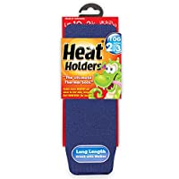 Childrens Thermal Heat Holder Socks All Colours 2-5.5 Age 8 Years + (Deep Blue)