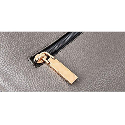 Frauen Freizeit Top Griff Schulranzen Handtaschen Taschen Handtasche Multicolor Purple