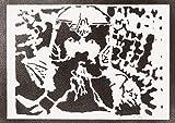 moreno-mata Gimli Herr der Ringe (The Lord of The Rings) Handmade Street Art - Artwork - Poster