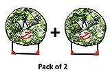Unbekannt Ghostbusters Klappstuhl für Kinder, für Camping, Garten, Schlafzimmer, gepolstert, 2 Stück