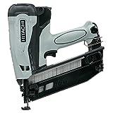 Hitachi NT65GB - Clavadora a gas de brads para acabados - brads F16 inclinados longitud 32 mm - 65 mm, grueso 1,4 x 1,6 mm