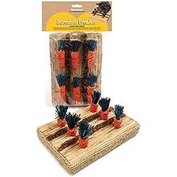 Boredom Breakers Actividad para animales pequeños, divertida área de juegos con zanahorias de juguete, de Rosewood