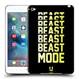Head Case Designs Beast Mode Fitness Typographie Soft Gel Hülle für iPad Mini 4