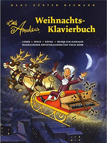 Hans-Günter Heumann: Little Amadeus - Weihnachts-Klavierbuch. Partitions pour Piano
