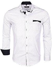 Carisma - Chemise de soirée pour homme Chemise 8250 blanc - Blanc