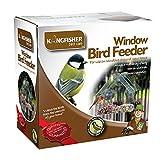 Vogelfutterhaus fürs Fenster von King Fisher.