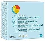 Waschpulver Color Sensitiv: Mit reiner Bio-Pflanzenseife, 100% biologisch abbaubar