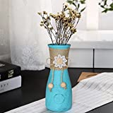 TiedRibbons® Flower Vase For Home Decoration(18 Cm X 7 Cm X 7 Cm) | Glass Flower Vase | Glass Vase For Flowers | Home Decor Vase Low Price | Decorative Vases In Living Room
