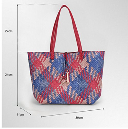 Dann Frau Fashion Abendtasche Tragbar Schulter Messenger,4-OneSize Laidaye