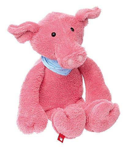 sigikid, Mädchen und Jungen, Stofftier Schwein Sweety, Groß, Rosa, 38657
