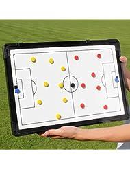 Tableau magnétique de stratégie sportive 45 x 30 cm-avec sac de transport pour teamsportbedarf fußballtraining -