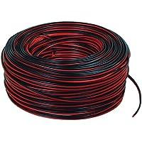 Valueline - 2X 0.35 Mm² On Reel 100M - Cable Av (100M, Negro, Rojo, 19 Cm, 2.5 Cm, 1.33 Kg, 19 Cm)