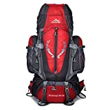 Skytower 80L Hiking Backpack with Support for Outdoor Hiking Travel Climbing Camping Waterproof