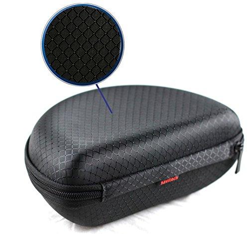 Navitech Schwarz EVA Case Cover Gehäuse für Oakley JEFFERY HERLINGS SIGNATURE AIRBRAKE MX Sonnenbrille für Skifahrer