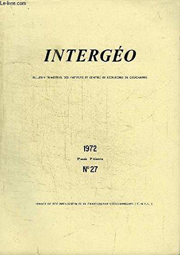 HISTORIENS ET GEOGRAPHES N°234 - Numéro spécial consacré aux rapports des concours de 1971, agrégation d'histoire (candidats), agrégation d'histoire (candidates), ...