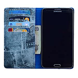 DCR PU Leather Flip Case Cover For Samsung Galaxy Grand max