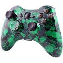 Xbox 360® Carcasa para Wireless Controller–Big Skullz verde