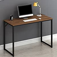 Cherry Tree Furniture Modern Compact Desk Table Computer Workstation PC Table 120 X 76 X 45 CM (Walnut)