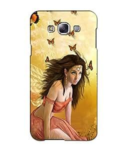 Crazymonk Premium Digital Printed 3D Back Cover For Samsung Galaxy J5