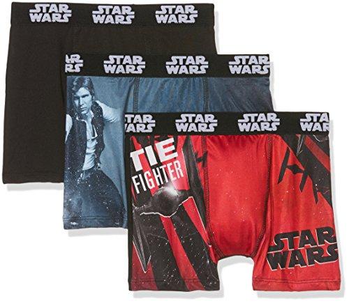 Star Wars Jungen Badehose Boxer packx3, 3er Pack, Mehrfarbig (Multicolor B3), 176 (Herstellergröße: 14/16)