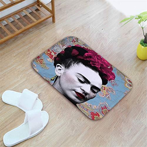 HIUGHJ TeppichWillkommen Bodenmatte In Der Flur 40 * 60 Anti Rutsch Boden Küche Matten Hauseingangstür Boden Wasserdichte Flanell Teppich Fußmatten