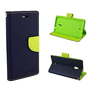 Blue Flip cover(Ultra Compact with Stand, Credit Card Slots & Wallet) lg nexus 4