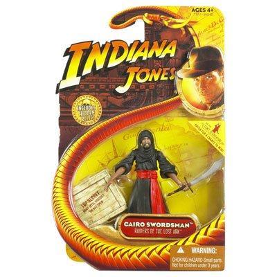 ers of the Lost Ark / Jäger des verlorenen Schatzes - Movie Action Figur Wave 01 - Cairo Swordsman mit Waffe & Hidden Relic Zubehör (Indiana Jones Zubehör)
