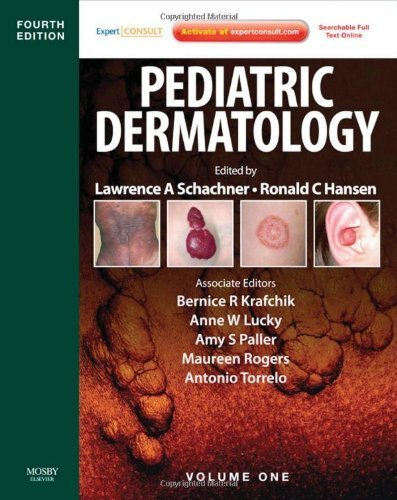 Pediatric Dermatology: Expert Consult - Online and Print, 2-Volume Set, 4e by Lawrence A. Schachner MD (2011-02-22)
