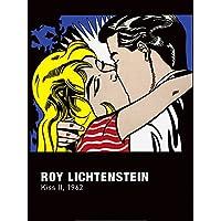 Nouvelles Images Poster 60x 80cm Roy Lichtenstein Kiss II, 1962(1923-1997) preiswert