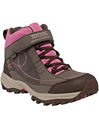 Regatta Girls Trailspace Low Breathable Walking Shoes Brown RKF402