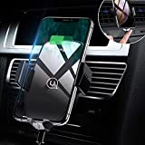 Caricatore Wireless Supporto Smartphone Auto,10W Caricabatterie Wireless Qi Air Vent Mount Cellulare per Samsung Galaxy S10/S9/S9+/S8/S8+/Note 8,iPhone XS Max XR X 8 Plus e Dispositivi Qi-Enabled