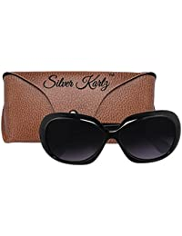 6cd6e3f80c Oval Women s Sunglasses  Buy Oval Women s Sunglasses online at best prices  in India - Amazon.in