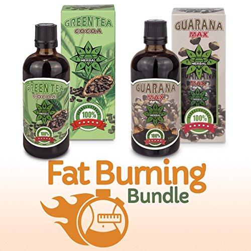 Advanced Antioxidant Serum (Fettverbrenner Paket | Fat Burning Bundle | Guarana extrakt und Grüner tee extrakt mit cocoa | Cvetita Herbal 2 x 100 ml natürliche flüssige kräuterextrakte | Gewichtsmanagement | Gewichtsverlust)
