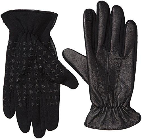 Smart Hands Herren Handschuhe Chicago, Einfarbig, Gr. 8.5, Schwarz (black 000)