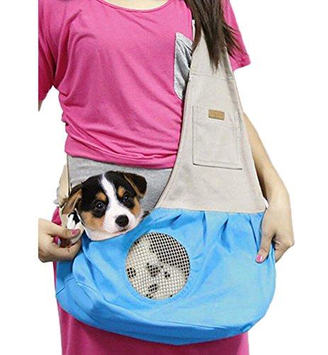 Ylen Kleine Hunde Katzen Haustier Transporttasche Reise-Träger Hundetragebeutel Segeltuch Rucksack Tasche Für Welpen Katze Kaninchen