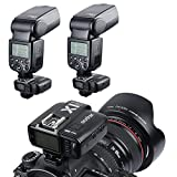 #8: Godox X1C E-TTL II 2.4G Wireless Flash Trigger High Speed Sync For Canon EOS 6D 7D 60D 650D 5DIII TT685 WITSTRO AD360II-C Flash Light (Transmitter + Receiver) + CEARI MicroFiber Clean Cloth
