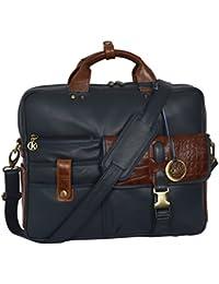 Klasse Unisex Laptop Bag Cross Over Shoulder Messenger Bag