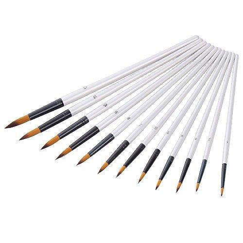mudder-12-pezzi-pennelli-pittura-spazzole-pittura-arte-set-di-spazzole-per-pittura-acrilica-acquerel
