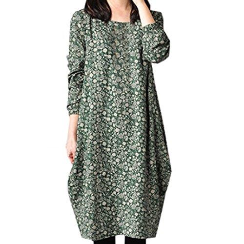Partiss - Robe - Femme Vert